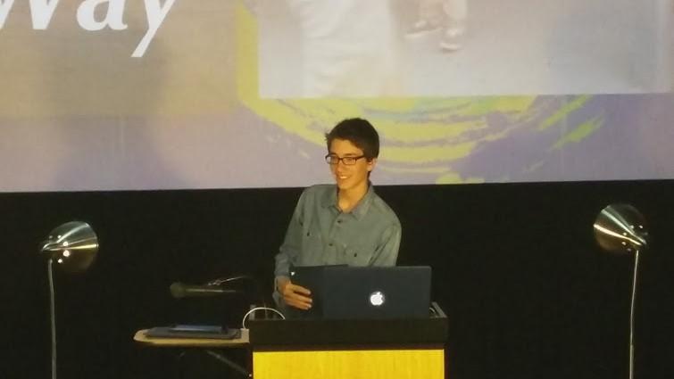 Nicolas Chmielewski wins Rhythm of Life Award at local film festival