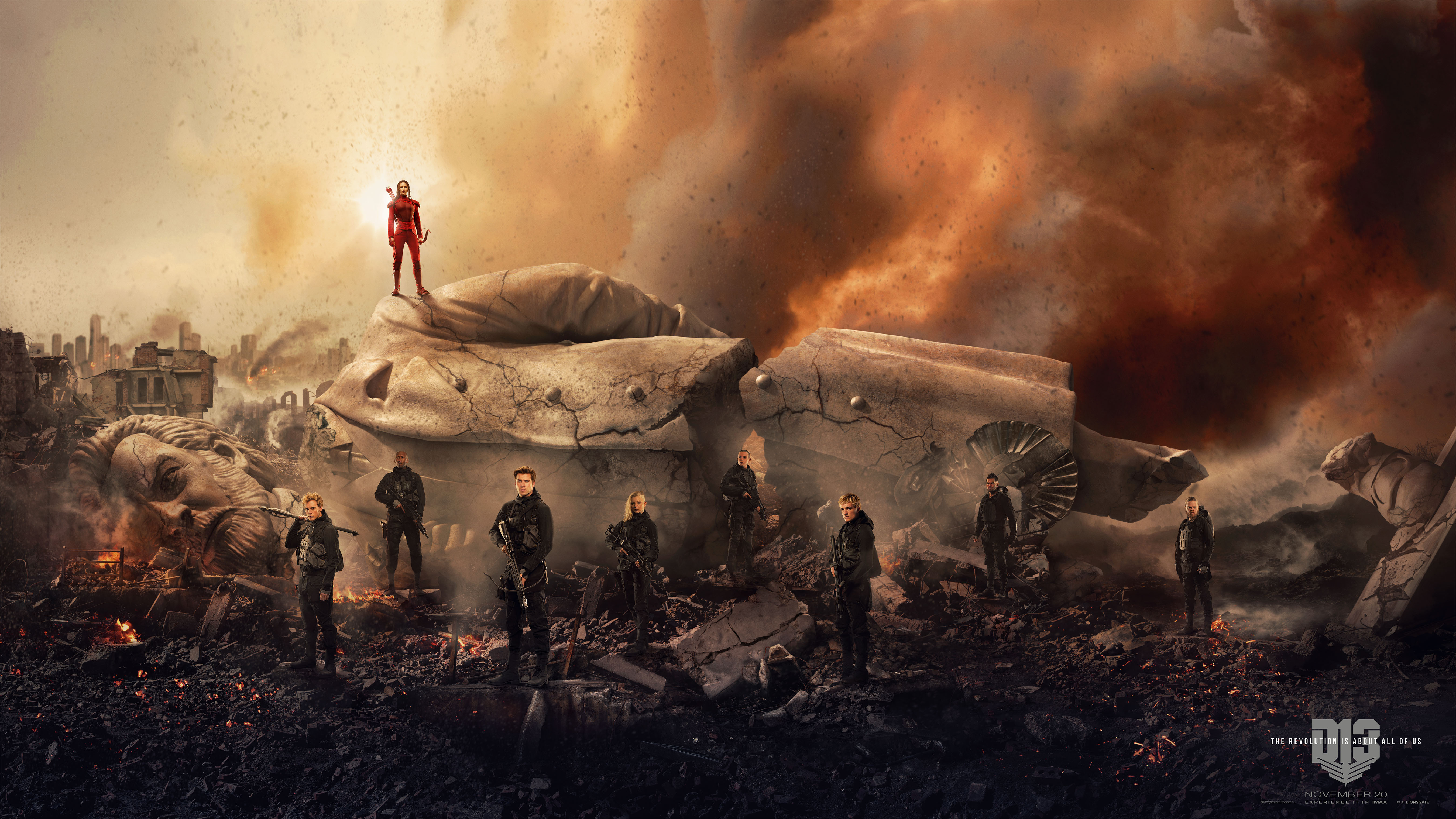 [OVER] Enter to win a MOCKINGJAY- PART 2 prize pack!