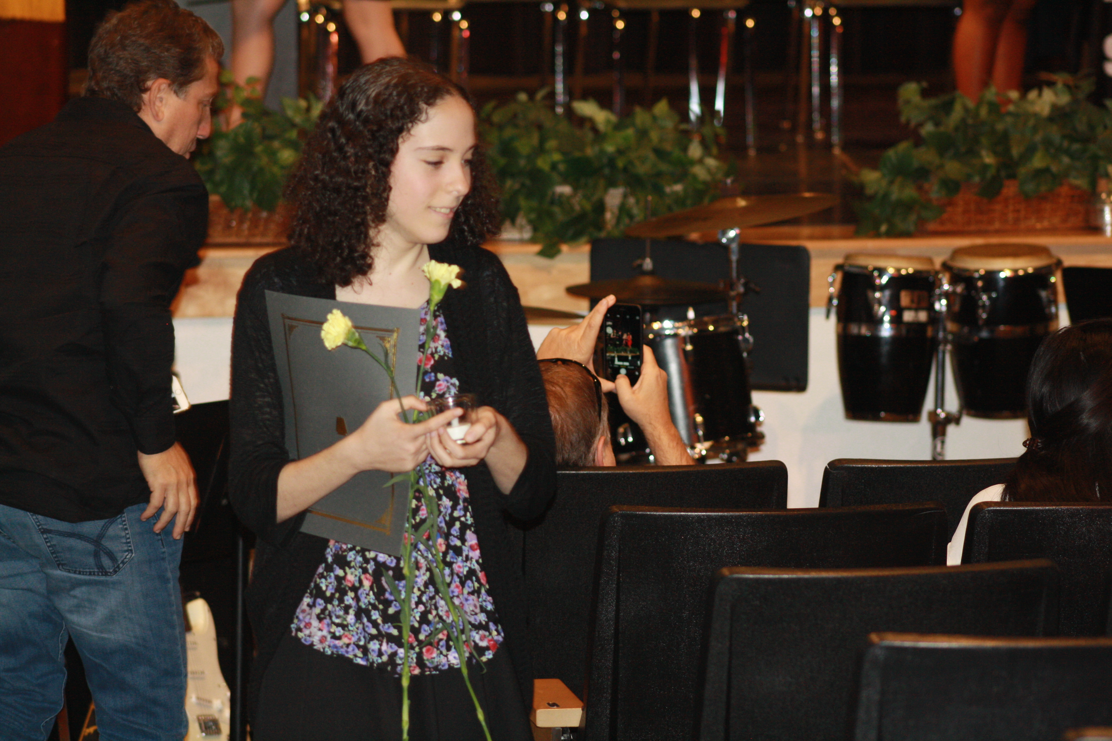 Students inducted to National Honor Society in annual ceremony