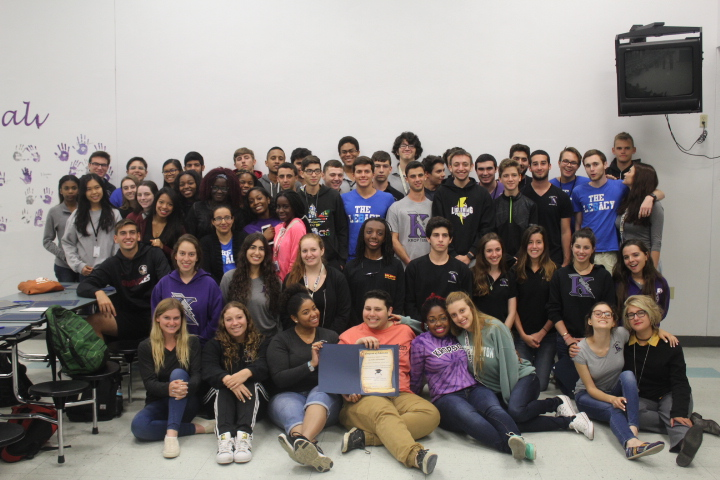Seniors attend second annual academic scholarship signing party