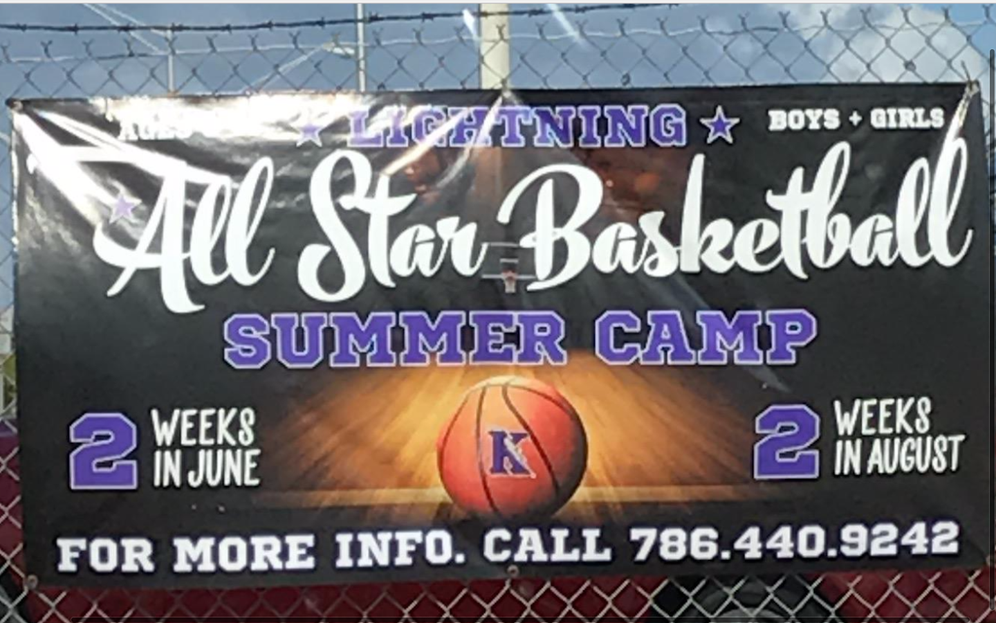 Coach Garcia's All Star Basketball camp