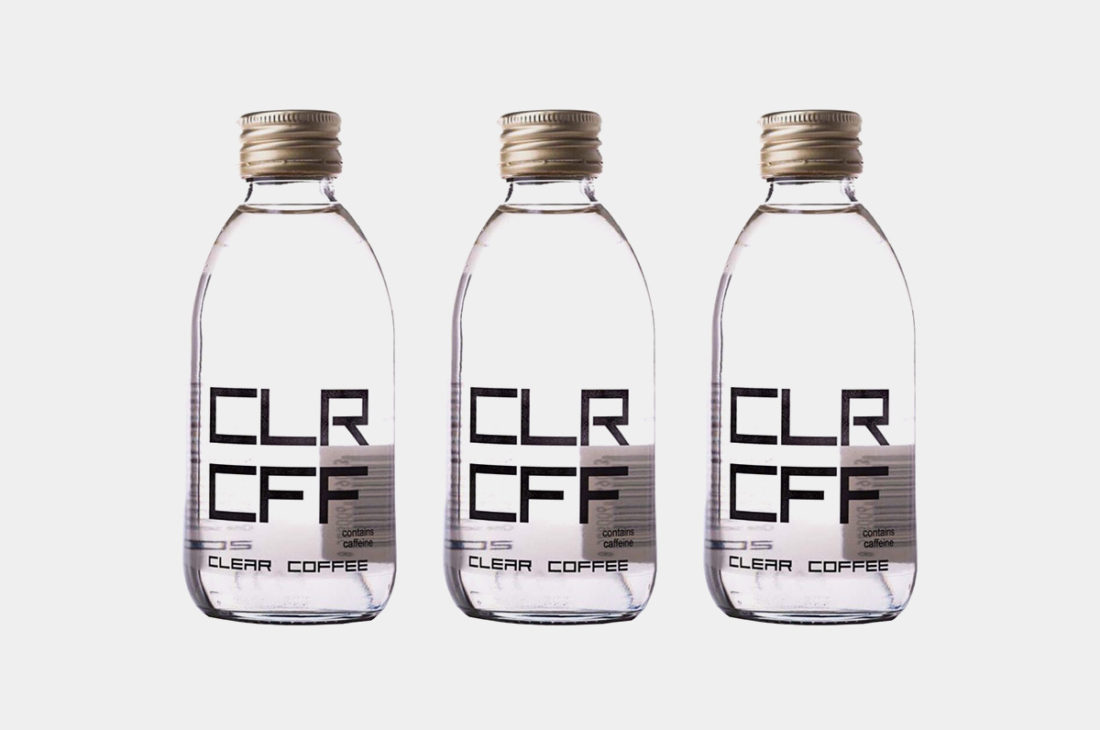 The world's first clear coffee