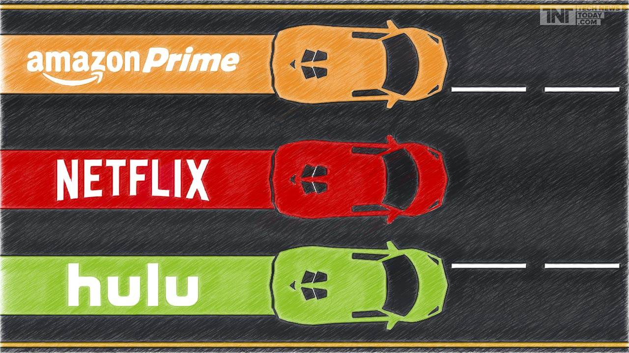 Netflix v. Hulu v. Amazon Prime: Dawn of the Streaming Service