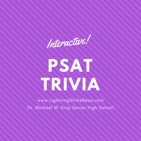 Today, Krop students took the PSAT. However there are some things you might not know about the test. Take this short quiz to find out.