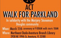 "Berliavsky, Yehoshua organize ""Walk For Parkland"" in Aventura"