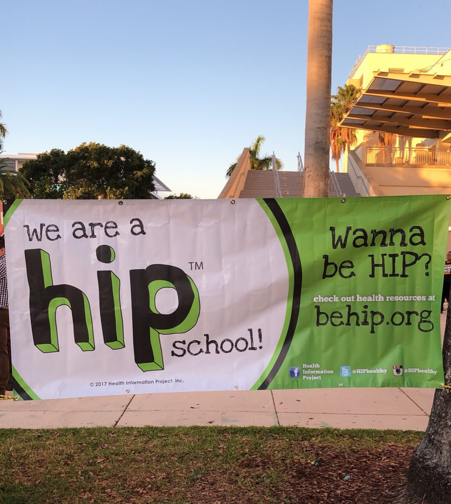 HIP reaches over 33,000 ninth grades a year. HIP's annual health summit occurred on Mar.13, 2018 this year.