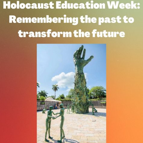 Holocaust Education Week: Remembering the past to transform the future