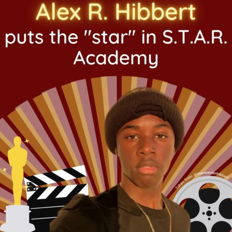 "Alex R. Hibbert puts the ""star"" in S.T.A.R. Academy"