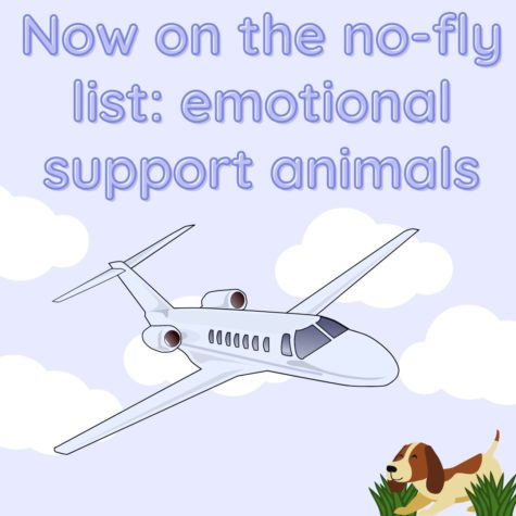 Now on the no-fly list: Emotional support animals