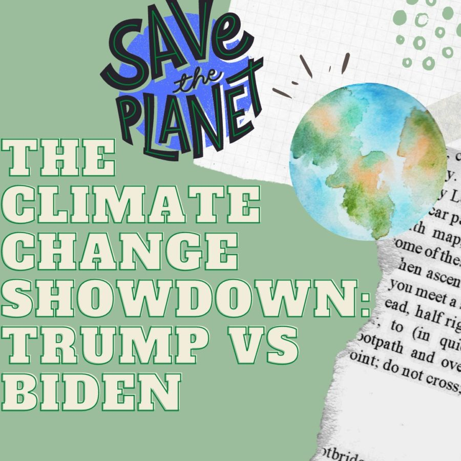 The climate change showdown: Trump vs. Biden